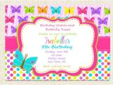 Electronic 1st Birthday Invitations butterfly Birthday Invitations