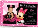 Electronic 1st Birthday Invitations Minnie Mouse Birthday Invites Minnie Mouse Birthday