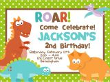 Electronic Party Invitations Uk Diy Digital File Dinosaur Birthday Party Invitation