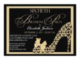 Elegant 60th Birthday Invitation Wording Elegant 60th Birthday Damask Shoe Invitation