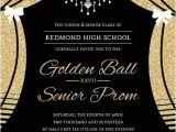 Elegant Birthday Invitation Templates Free Elegant Faux Gold Glitter Curtain Prom Invitation In 2019