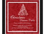 Elegant Christmas Dinner Party Invitations Elegant Holiday Christmas Dinner Party Invitation 5 25