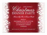 Elegant Christmas Dinner Party Invitations Magic Christmas Invitations 800 Magic Christmas