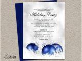 Elegant Christmas Party Invitations Free Elegant Holiday Party Invitation Diy by Idesignstationery