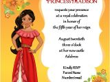 Elena Of Avalor Birthday Party Invitations Elena Of Avalor Birthday Invitation by Gigglefish