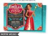 Elena Of Avalor Birthday Party Invitations Elena Of Avalor Birthday Invitation Elena Of Avalor