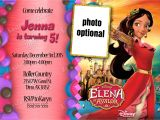 Elena Of Avalor Birthday Party Invitations Elena Of Avalor Birthday Invitations Kustom Kreations
