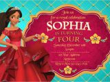 Elena Of Avalor Birthday Party Invitations Elena Of Avalor Birthday Party Invitations Personalized