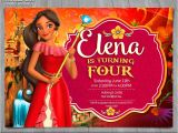 Elena Of Avalor Birthday Party Invitations Elena Of Avalor Invitation Disney Princess Elena Invite