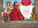 Elena Of Avalor Birthday Party Invitations Elena Of Avalor Invitation Elena Invitations Printable Elena