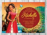 Elena Of Avalor Birthday Party Invitations Elena Of Avalor Invitation Elena Of Avalor Birthday