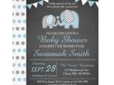 Elephant Baby Shower Invitations for Boys Elephant Baby Shower Invitation Boy Chalkboard