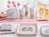 Elephant Baby Shower Invitations Party City Pink Baby Elephant Baby Shower Party Supplies Party City