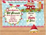 Elf On the Shelf Party Invitations Elf On the Shelf Party Invitations Christmas Decor and