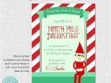 Elf On the Shelf Party Invitations Instant Download Santa 39 S Magical Christmas Elf Invitation