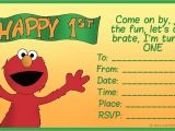 Elmo 1st Birthday Party Invitations How to Create Birthday Invitations and Cards