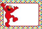 Elmo Birthday Invitation Template 12 Printable Elmo Invitations Children 39 S Favorite