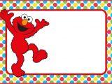 Elmo Birthday Invitation Template 12 Printable Elmo Invitations Children 39 S Favorite