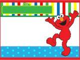 Elmo Birthday Invitation Template Elmo Birthday Invitation Free Template Invitations Online