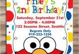 Elmo Birthday Invitation Template Elmo Invitation Elmo Invitation Elmo Birthday Invite Sesame