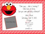 Elmo Birthday Invitation Template Printable Free Elmo Invitation