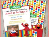 Elmo Birthday Invitations Walmart Elmo Birthday Invitation Template Jose Mulinohouse Co