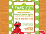 Elmo Birthday Invitations Walmart Elmo Birthday Party Invitations Elmo Birthday Party