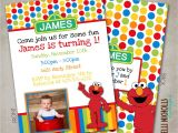 Elmo Customized Birthday Invitations Custom Elmo Birthday Party Invitation by Kellinichollsdesigns