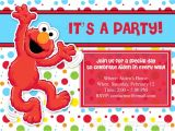Elmo Customized Birthday Invitations Customized Birthday Invitations Ideas – Bagvania Free