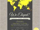 Elopement Party Invitation Template En Iyi 17 Fikir Elopement Announcement Pinterest 39 Te