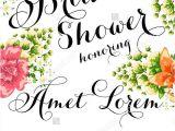 Email Bridal Shower Invitations Templates Sample Wedding Invitations