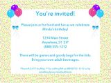 Email Party Invites Email Party Invitations Template Best Template Collection