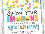 Emoji Birthday Invitations Free Emoji Invite Emoji Invite Emoji Invitation Emoji