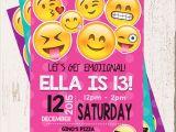 Emoji Birthday Invitations Free Printable Emoji Birthday Invitation Emojis Emoji Invite Collectibles