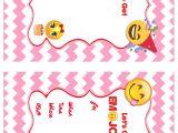 Emoji Birthday Invitations Free Printable Free Emoji Invitation Printables Emoji Birthday