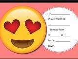 Emoji Birthday Invitations Free Printable Throw the Ultimate Emoji Party
