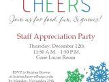 Employee Appreciation Party Invitation Wording for Employee Appreciation Luncheon Just B Cause