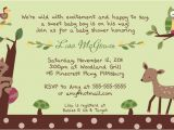 Enchanted forest Baby Shower Invitations 1000 Ideas About forest Baby Showers On Pinterest