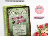 Enchanted forest Baby Shower Invitations Baby Shower Invitation Enchanted forest Printable