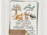 Enchanted forest Baby Shower Invitations Baby Shower Invitation Fresh Enchanted forest Baby Shower