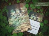 Enchanted forest themed Wedding Invitations forest Wedding Invitation Need Wedding Idea