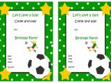 End Of Football Season Party Invitation Wording End Of Season Football Invitation Printable