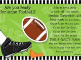 End Of Football Season Party Invitation Wording Quick View Pivw807 Quot Kick Off Wiggler Invitation Quot