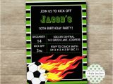 End Of Football Season Party Invitation Wording soccer Invitation soccer Printable Football Invitation End Of