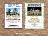End Of Football Season Party Invitation Wording Sports End Of Season Party Invitation Choose Your Colors
