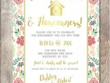 Engagement and Housewarming Party Invitations Engagement Party Invitation Housewarming Party by