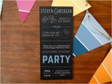 Engagement and Housewarming Party Invitations Housewarming Engagement Party Whimsy Design Studio