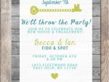 Engagement Housewarming Party Invitations Engagement Party Invitation Housewarming Party by