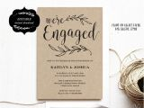 Engagement Party Invitation Examples Best 25 Engagement Invitation Template Ideas On Pinterest