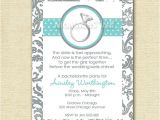 Engagement Party Invitations Etsy Items Similar to Bachelorette or Engagement Party